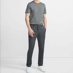 THEORY ZAINE PANT IN NEOTERIC GRAY SZ 33 NEW